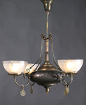 Antique Gas Chandelier