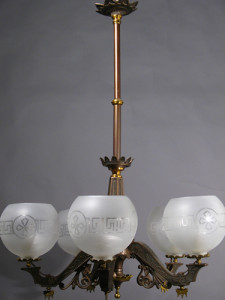 Antique Chandelier Lighting Fixture