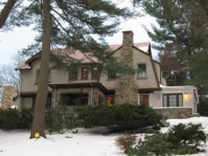 KW-1910 English Arts & Crafts Home-Lexington, MA