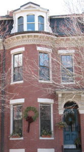 PBV - 1862 Brick Bow Front Townhouse