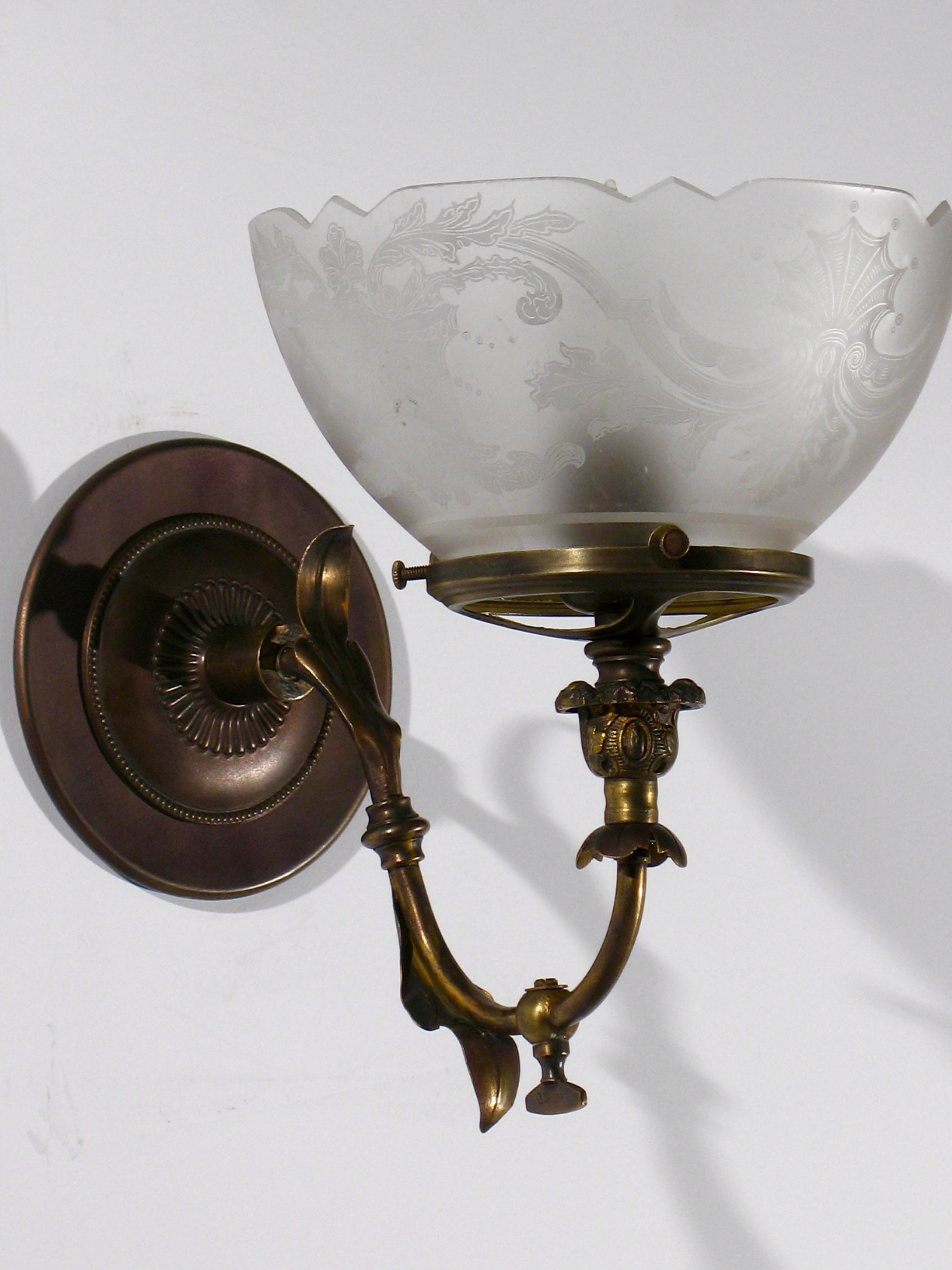 light antique wall progress beaker lights sconce to hover bronze productdetail zoom led htm one lighting